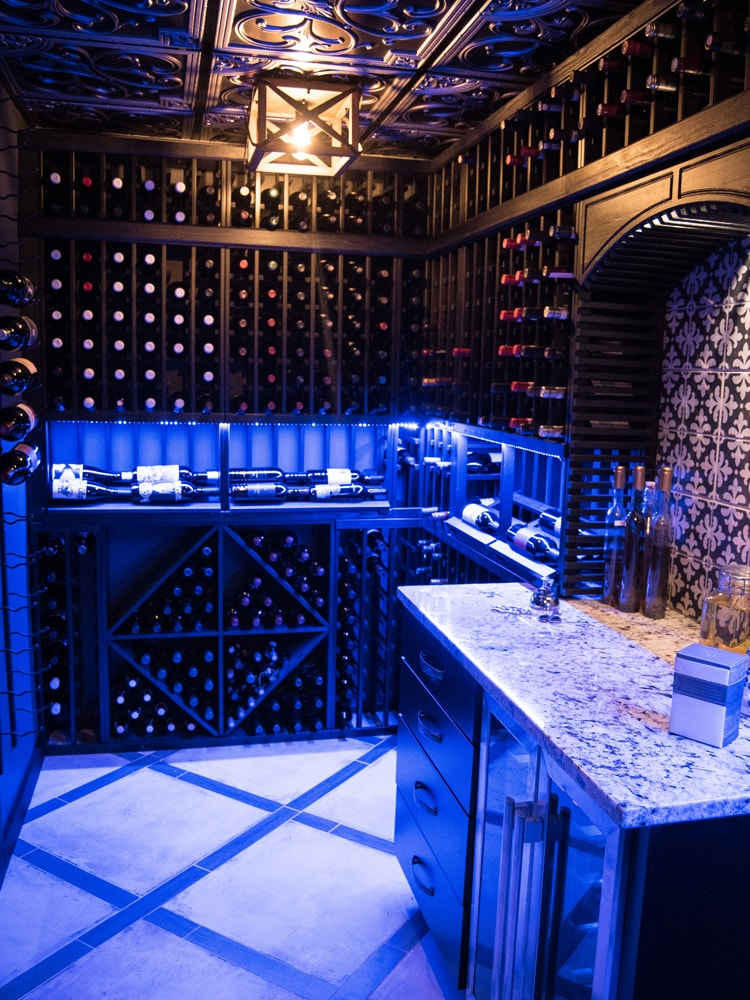 Wine Cellar Renovation In Chicago